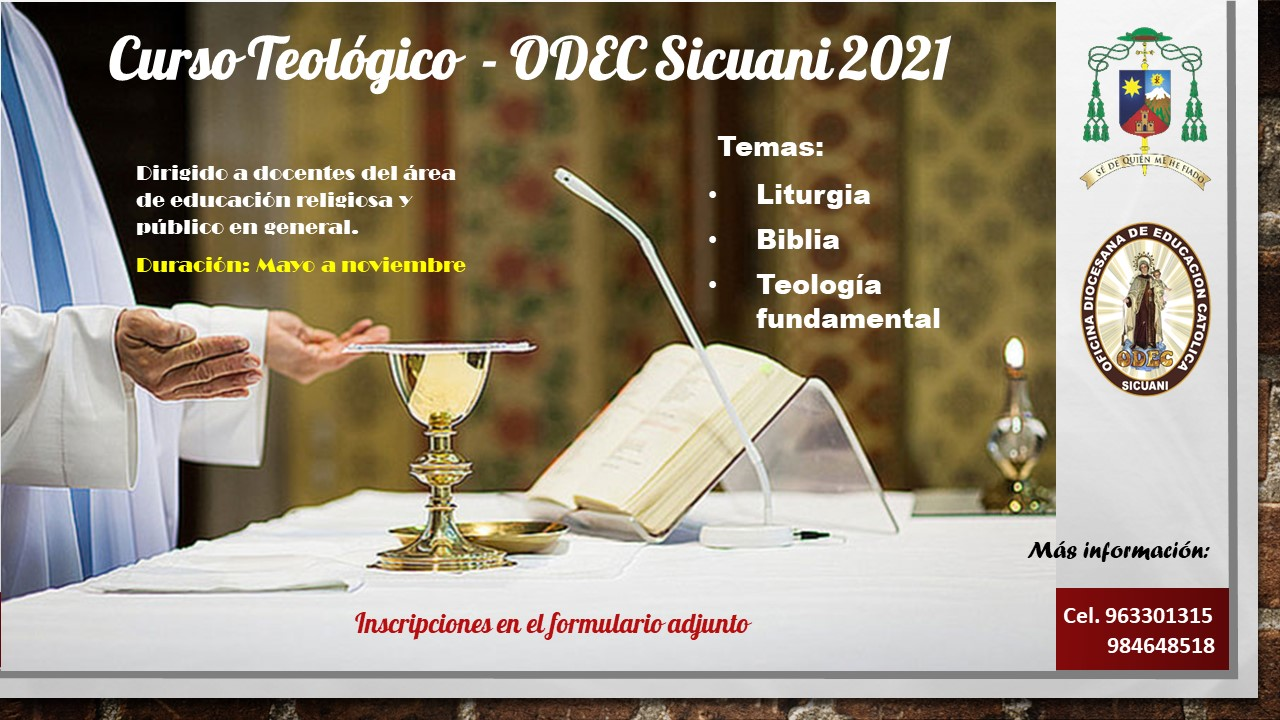 Curso Teológico – ODEC 2021
